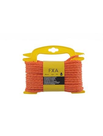 Lina Fxa Polyetyl Flätat Orange 6mmX15m