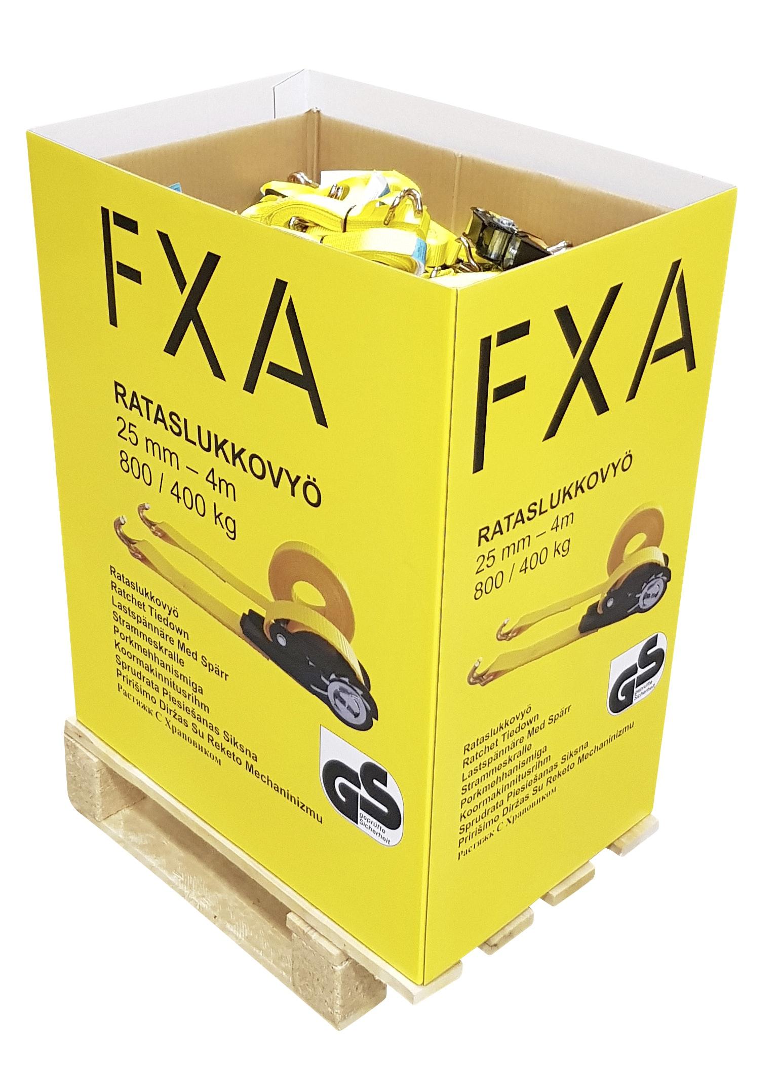 Spännband FXA Med Lastspännare 25mm 4m
