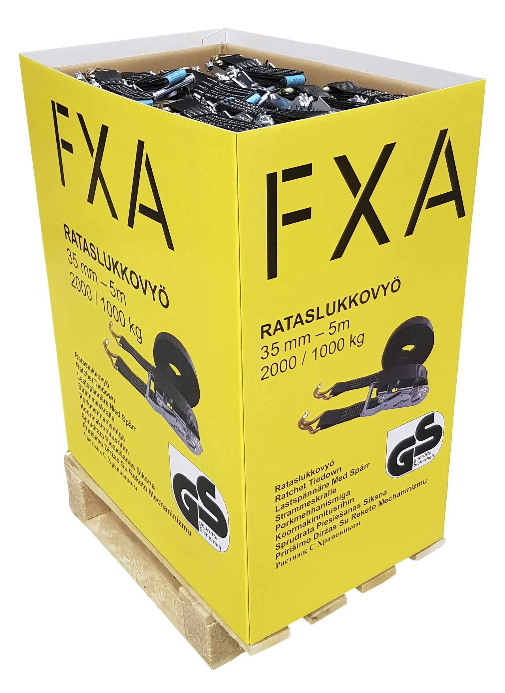 Spännband Med Lastspännare FXA 35mm 5m