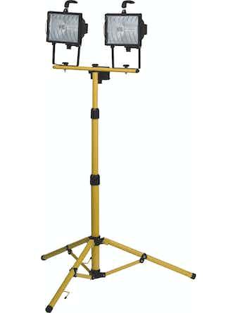 Arbetslampa Merox Halogen 2X400W På Stativ 3m