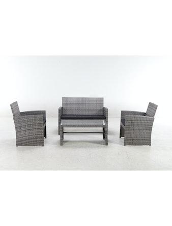 Набор мебели New York, 4 предемета, искуственный ротанг