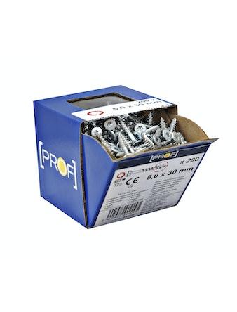 Universalskruv Fs Zn Pp 5,0X30 Tx25