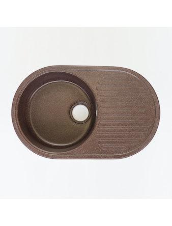 Мойка мраморная Fosto КМ 74-46 шоколад