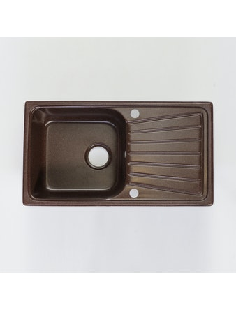 Мойка мраморная Fosto КМ 81-46 шоколад