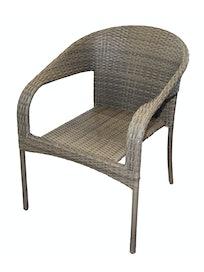 Кресло садовое Cello Nadja, искусственный ротанг, 56 x 67 x 76 см