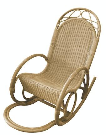 Кресло-качалка Cello Rocking, натуральный ротанг, 106 х 64 х 126 см