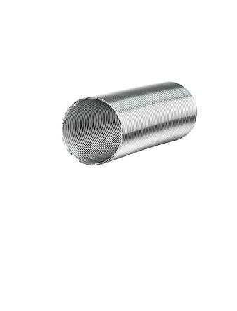 Воздуховод алюминиевый PROF D100 мм L2500 мм 1-3 м 80 мк