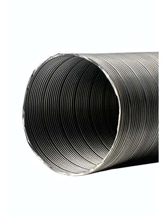 Kanal Prof Flexibel 125X2500mm Aluminium