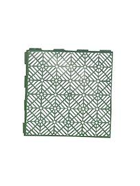 Плитка садовая, упаковка 5 шт, цвет зеленый