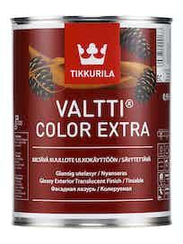VALTTI COLOR EXTRA KUULLOTE KIILTÄVÄ 0,9L EC SÄVYTETTÄVÄ
