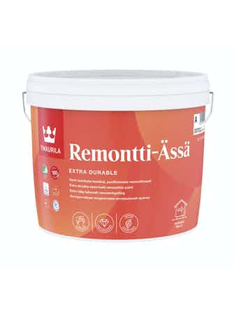 Краска Tikkurila REMONTTI-ASSA, полуматовая, 2,7 л