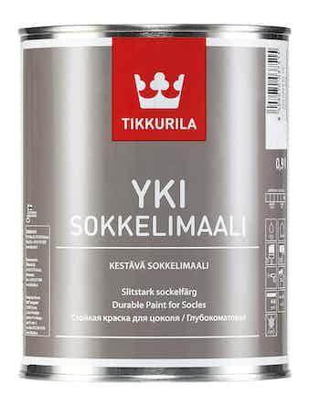 Краска д/цоколя YKI A мат 0,9л Tikkurila