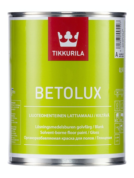 BETOLUX LATTIAMAALI 0,9L A VALKOINEN SÄVYTETTÄVISSÄ