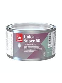 UNICA SUPER 60 URETAANIALKKYDILAKKA 0,225L PUOLIKIILTÄVÄ EP SÄVYTETTÄVISSÄ