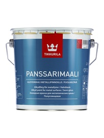 Краска для крыш Tikkurila Panssarimaali, полуглянцевая, 2,7 л