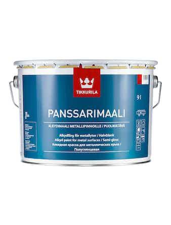 Краска д/крыш Panssarimaali C 9л Tikkuri