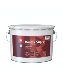 ROSTEX SUPER RUOSTEENESTOPOHJAMAALI 10L RAUTAOKSIDINPUNAINEN