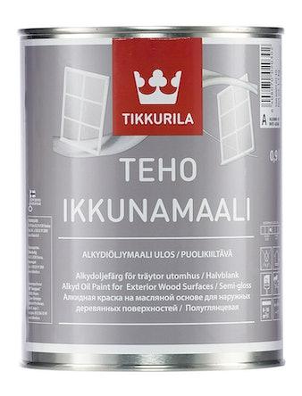 Краска д/окон TEHO п/гл. 0,9л Tikkurila