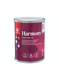 Краска интерьерная Tikkurila Harmony, глубокоматовая, база A, 0,9 л