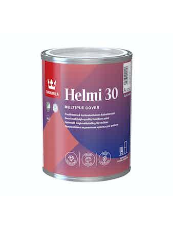 Краска для мебели Tikkurila HELMI, полуматовая, 0,9 л