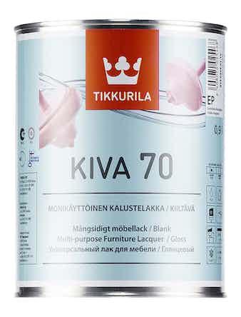 Лак мебельный Tikkurila KIVA, глянцевый, 0,9 л