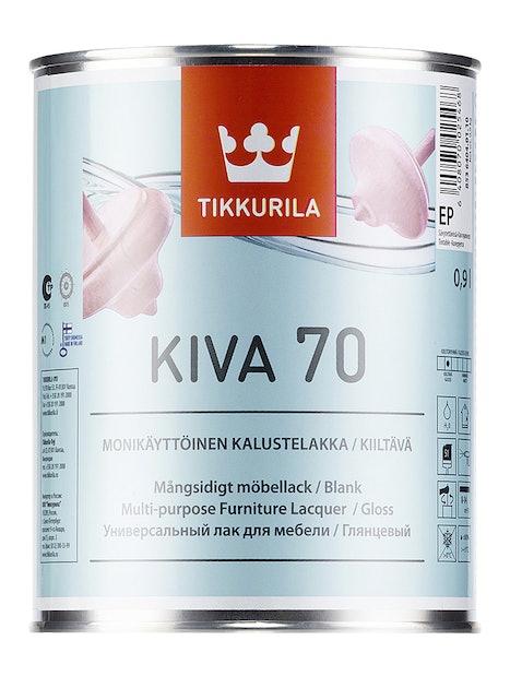 KIVA 70 KALUSTELAKKA 0,9L KIILTÄVÄ