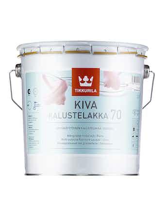 Лак мебельный Tikkurila KIVA, глянцевый, 2,7 л
