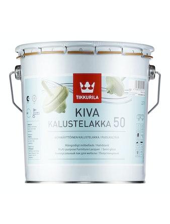 Лак мебельный Tikkurila KIVA, полуглянцевый, 2,7 л