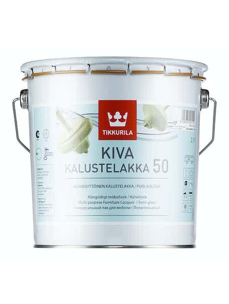 KIVA 50 KALUSTELAKKA 2,7L PUOLIKIILTÄVÄ EP SÄVYTETTÄVISSÄ