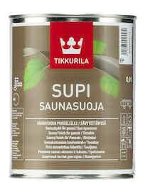 Состав для бань Tikkurila SUPI SAUNA, полуматовая, 0,9 л