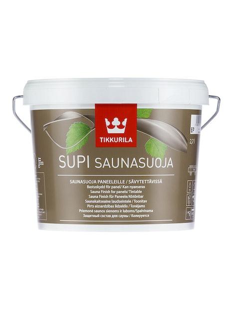 SUPI SAUNASUOJA 2,7L EP KIRKAS SÄVYTETTÄVISSÄ