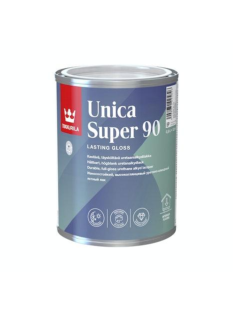 UNICA SUPER 90 URETAANIALKYDILAKKA 0,9L KIILTÄVÄ EP SÄVYTETTÄVISSÄ