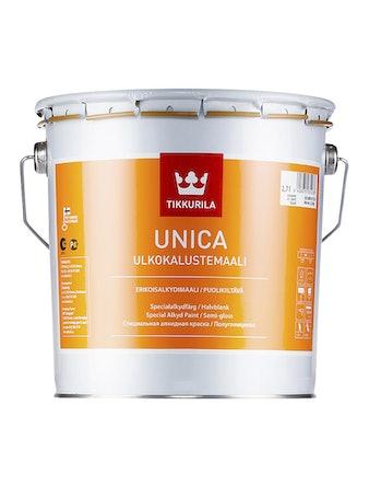 Краска специального применения Tikkurila Unica, полуглянцевая, 2,7 л