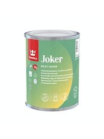 Краска интерьерная Tikkurila Joker, шелковисто-матовая, база A, 0,9 л