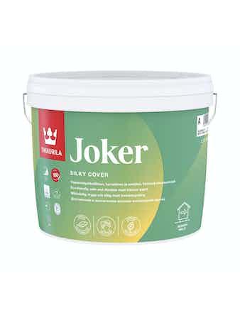 Краска JOKER A шелк.мат. 2,7л Tikkurila