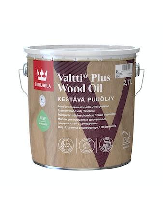 Масло для дерева Tikkurila VALTTI AKVA, 2,7 л