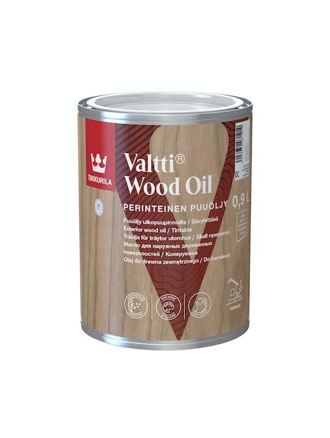 VALTTI PUUÖLJY 0,9L KIRKAS SÄVYTETTÄVISSÄ