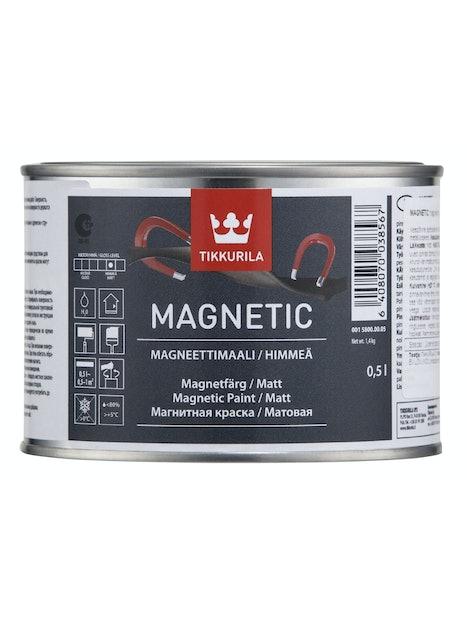 ERIKOISMAALI TIKKURILA MAGNETIC 0,5 L HARMAA