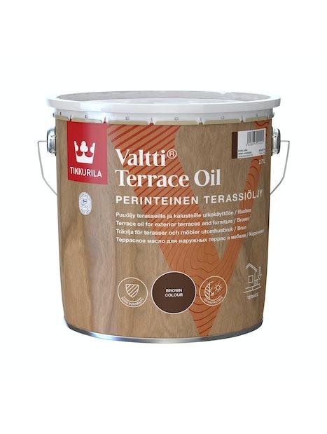 VALTTI KALUSTE- JA TERASSIÖLJY 2,7L RUSKEA