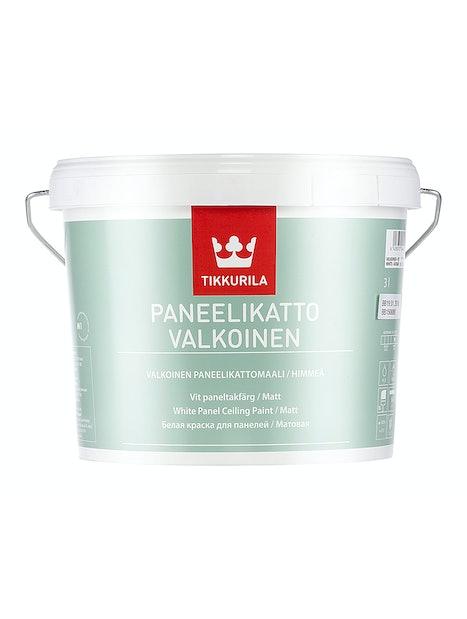 PANEELIKATTO VALKOINEN SISÄKATTOMAALI 3L