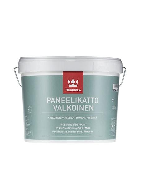 PANEELIKATTO VALKOINEN SISÄKATTOMAALI 10L