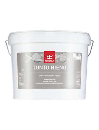 Покрытие мелкозернистое Tikkurila TUNTO, глубоко матовое, 9 л