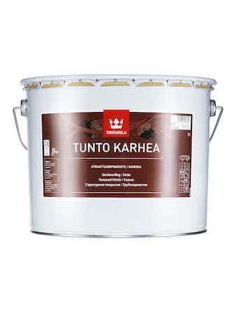 Покрытие грубозернистое Tikkurila TUNTO, глубоко матовое, 9 л