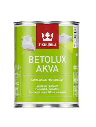 Краска д/пола BETOLUX AQUA A 0,9л Tikkur