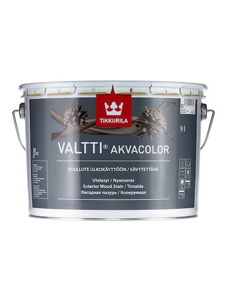 VALTTI AKVACOLOR KUULLOTE 9L EP SÄVYTETTÄVÄ