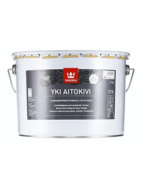 YKI AITOKIVI KIVIPINNOITE 10L KPC HARMAA SÄVYTETTÄVISSÄ