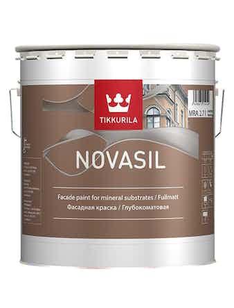 Краска фасадная Tikkurila Novasil MRA, 2,7 л