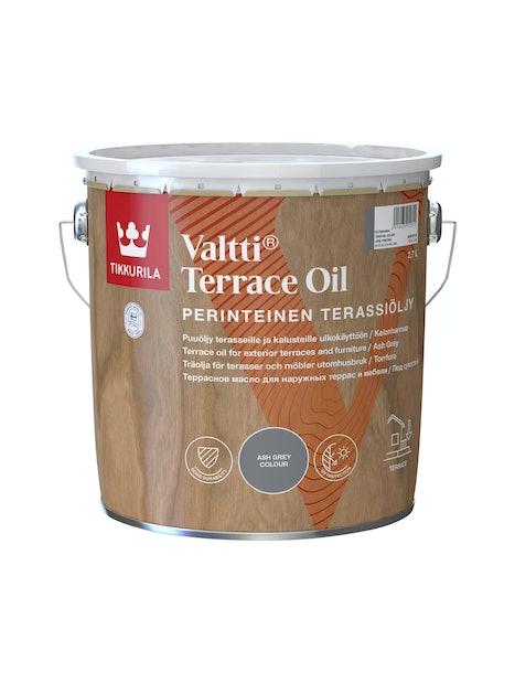 VALTTI KALUSTE- JA TERASSIÖLJY 2,7L KELONHARMAA