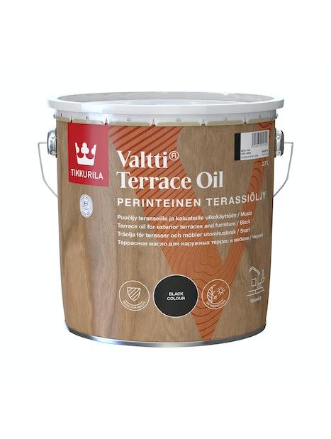 VALTTI KALUSTE- JA TERASSIÖLJY 2,7L MUSTA