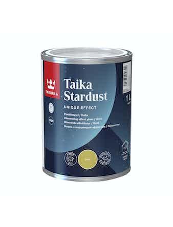 Лазурь Tikkurila TAIKA STARDUST, матовая, золотистая, 1 л